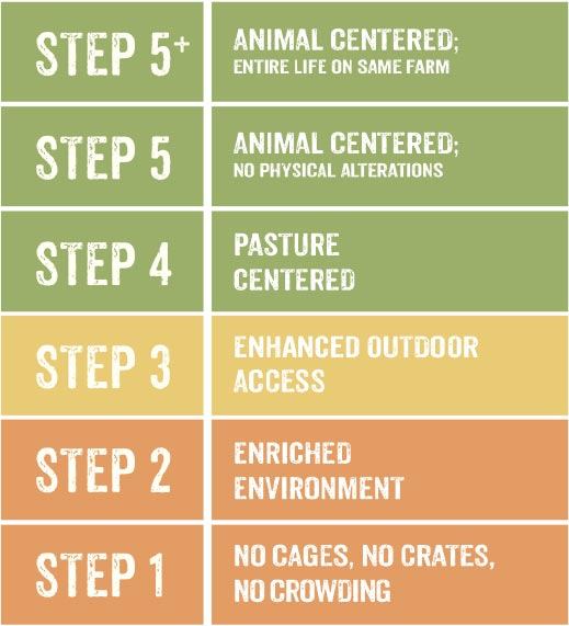 The 5 Steps - Global Animal Partnership