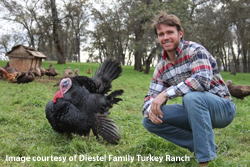 Jason Diestel of Diestel Turkey Ranch