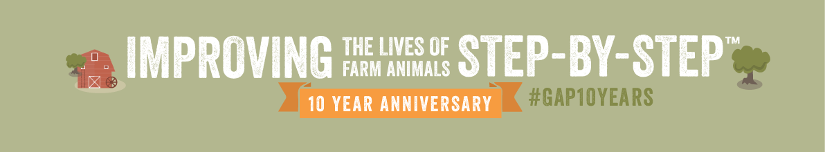 Global Animal Partnership 10 Year Anniversary