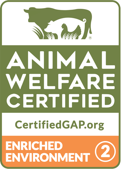 Global Animal Partnership Animal Welfare Certified Step 2