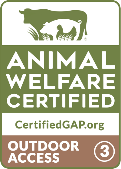 Global Animal Partnership Animal Welfare Certified Step 3