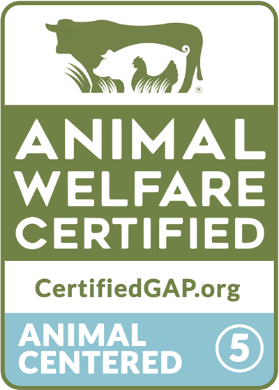GAP Animal Welfare Certified Step 5