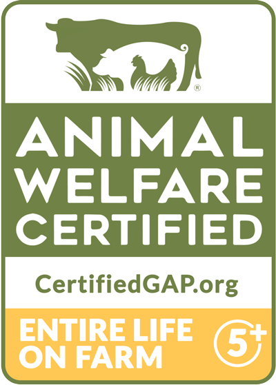 GAP Animal Welfare Certified Step 5+