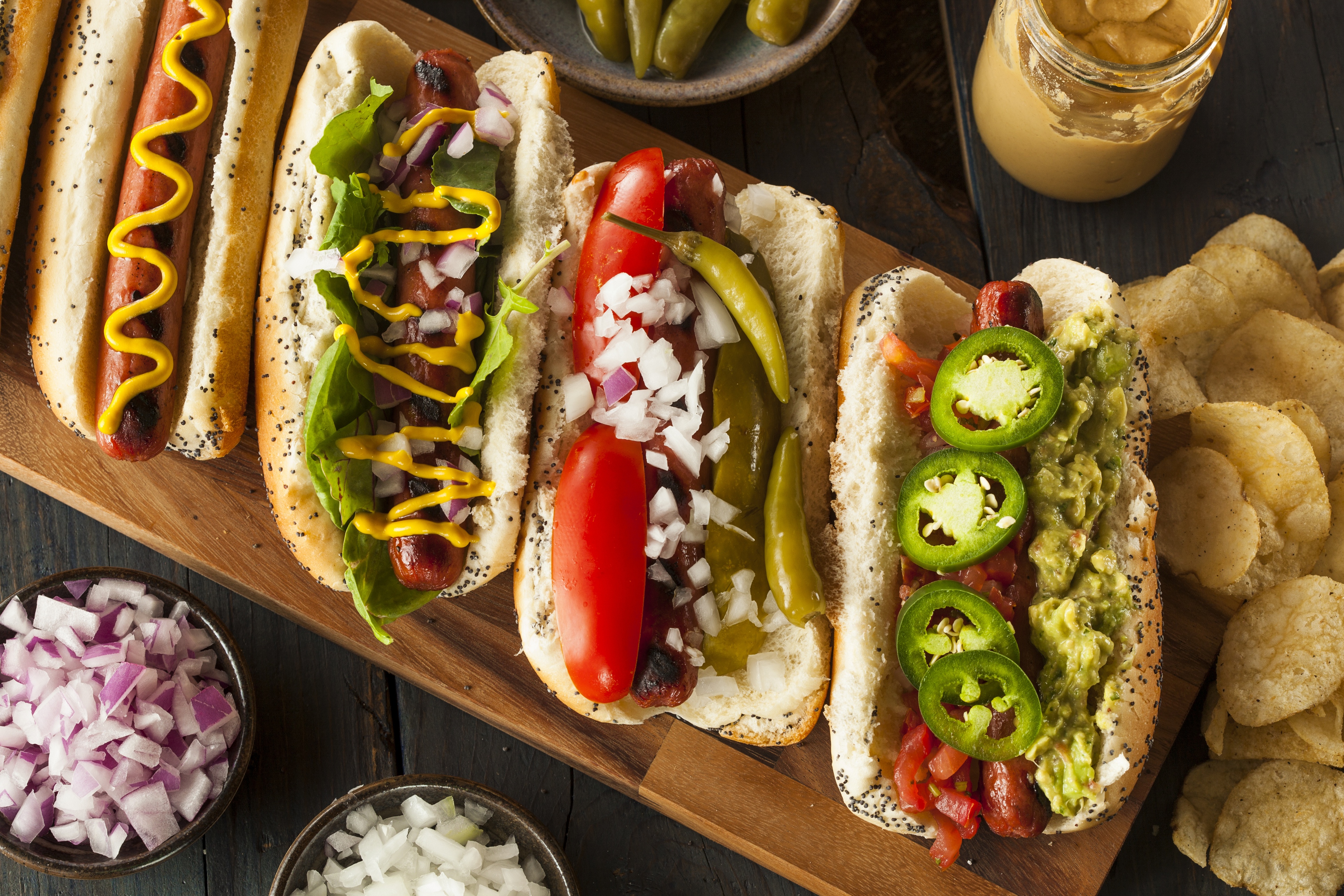 #MakeItGAP for National Hot Dog Month
