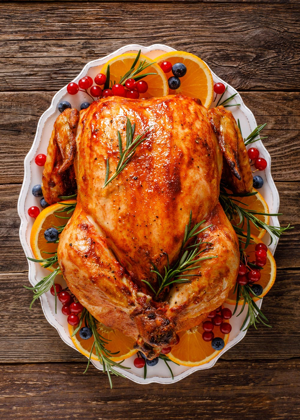 Brined Christmas Turkey - #MakeItGAP Recipe