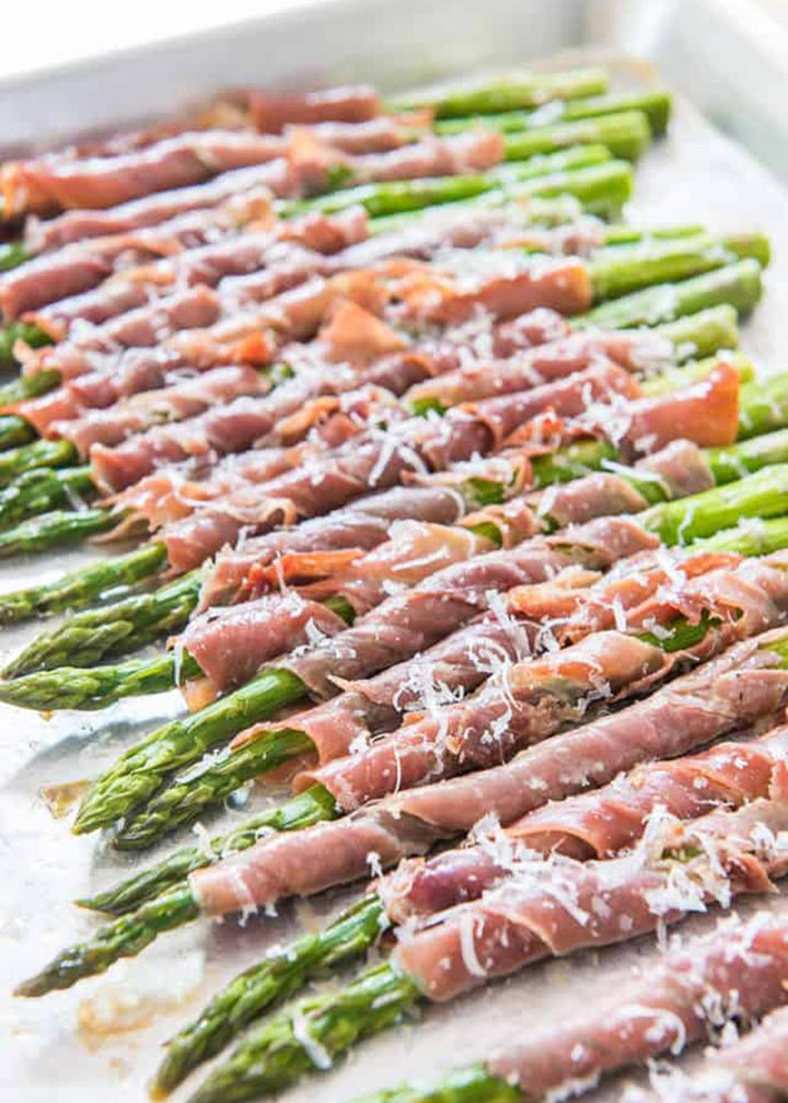 Prosciutto Wrapped Asparagus - #MakeItGAP Recipe