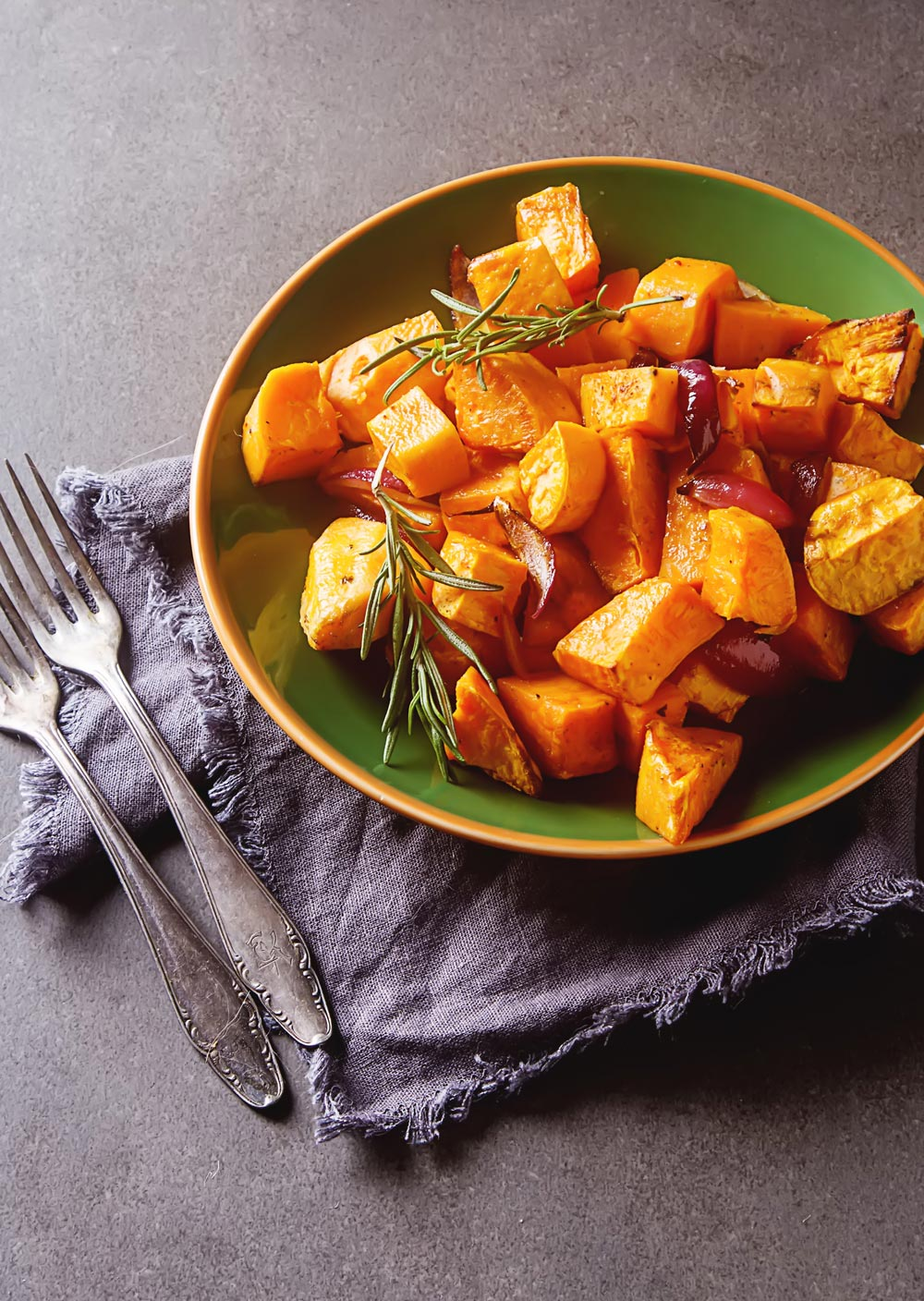 Roasted Sweet Potatoes - #MakeItGAP Recipe