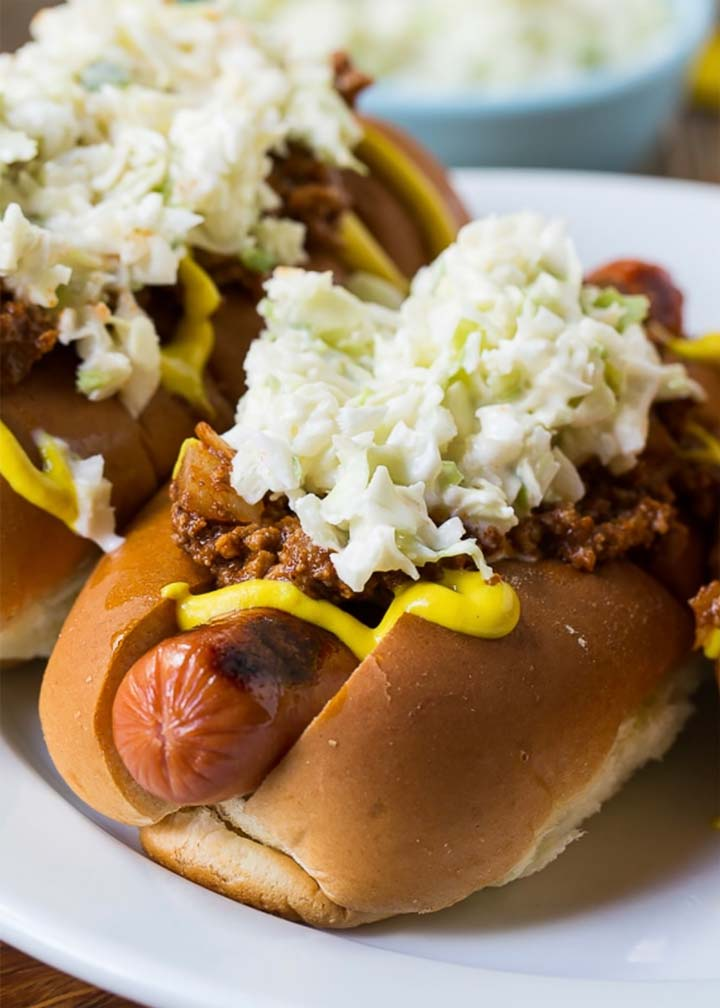 Carolina-Style Slaw Dog - #MakeitGAP Recipe