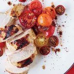 Grilled Chicken with Spiced Red Pepper Paste