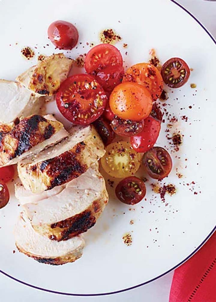Grilled Chicken with Spiced Red Pepper Paste - #MakeitGAP Recipe
