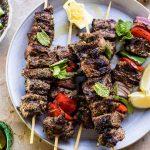 Mediterranean Grilled Lamb Kebabs