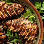 Grilled Turkey Tenderloin with Brown Sugar & Whole Grain Mustard