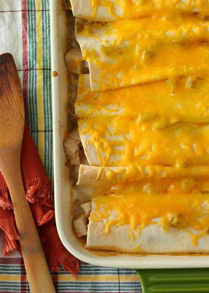 Easy Chicken Enchiladas - #MakeitGAP Recipe