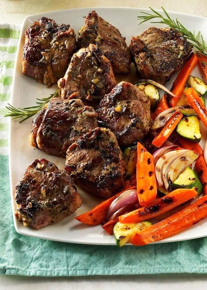 Rosemary-Thyme Lamb Chops - #MakeItGAP Recipe
