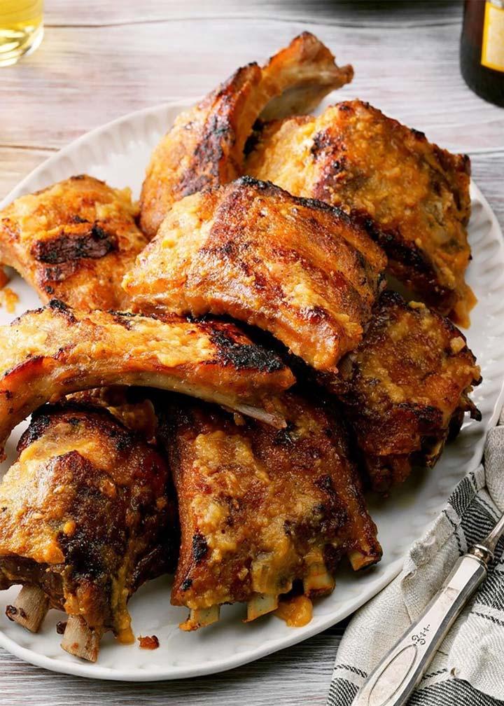 Peachy Pork Ribs - #MakeItGAP Recipe - Global Animal Partnership