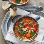 Slow Cooker Chicken Sausage and White Bean Stew